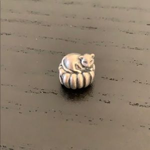 Cozy Cat Pandora Charm